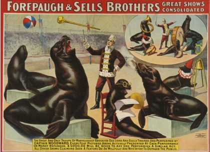 Forepaugh and Sella Brothers, Poster (1900)