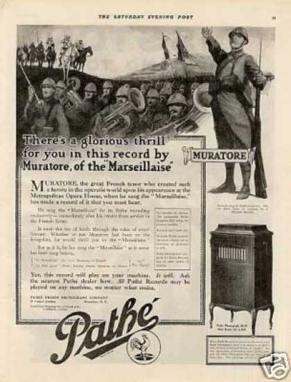 Pathe Phonograph (1918)