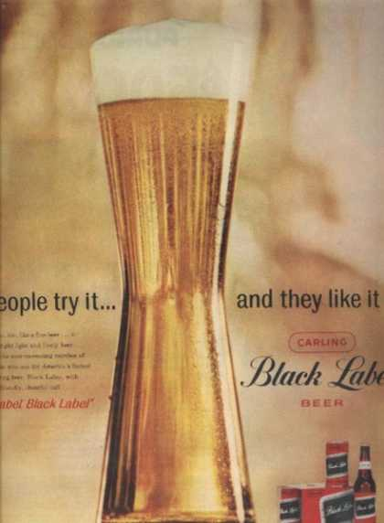 Carling's Black Label Beer