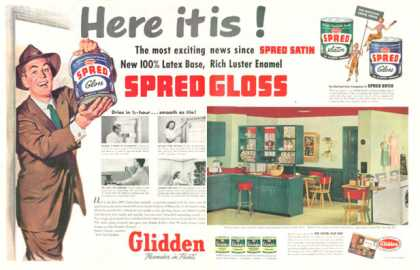 Glidden Paint Kitchen (1953)