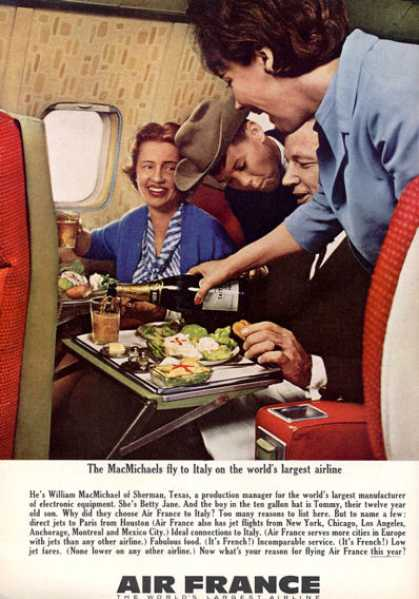 Vintage Airlines And Aircraft Ads Of The 1960s Page 56