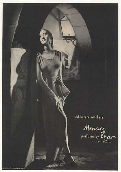 Evyan Menace Perfume Deliberate Witchery (1947)