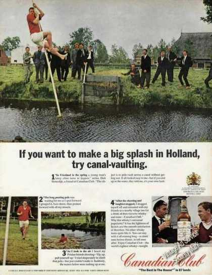 Canal-vaulting In Holland Photos Canadian Club (1966)
