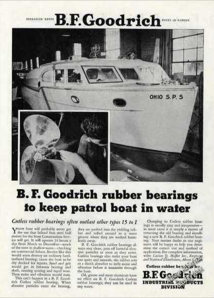 Ohio State Conservation Service Patrol Boat (1955)