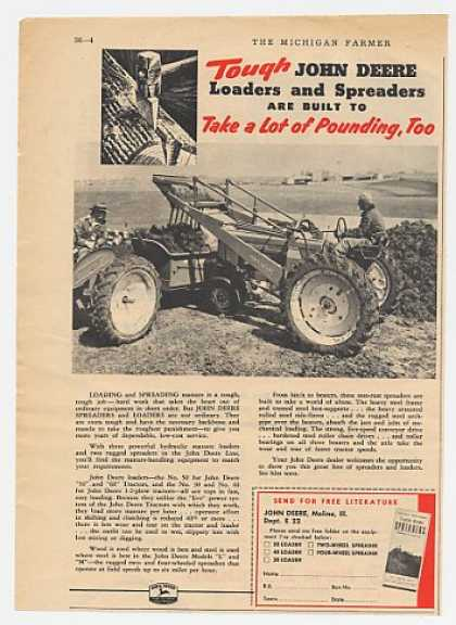John Deere Loader & Spreader (1953)