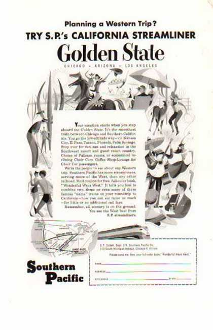 Southern Pacific Railroad – California Streamliner (1954)