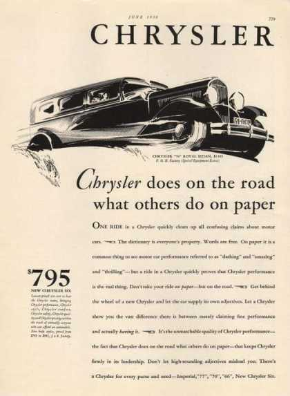 Chrysler 70 Royal Sedan (1930)