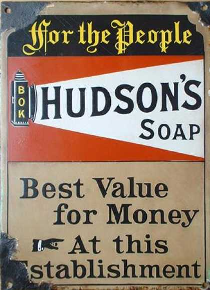 Hudson's Soap For The People