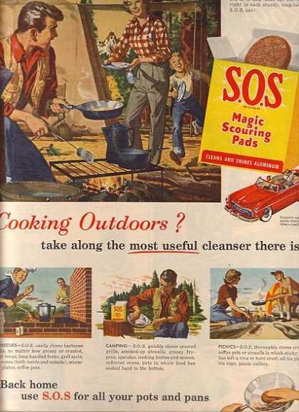 S.O.S.'s Magic Scouring Pads (1950)