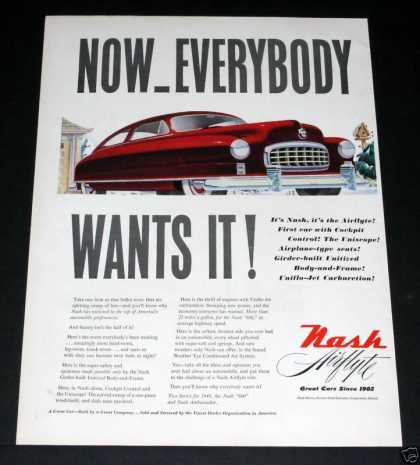 Nash Airflyte, Everyone Wants It (1949)