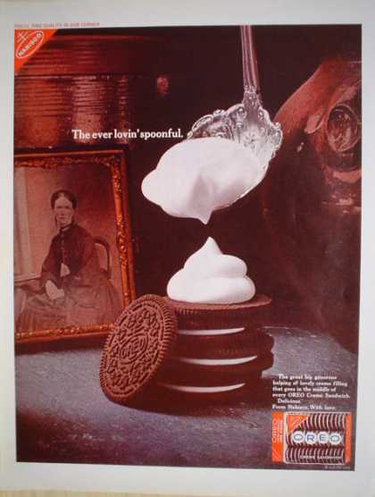 Nabisco Oreo Cookies The ever lovin' spoonful (1968)