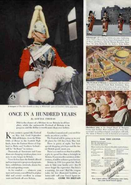 """Britain """"Once In a Hundred Years"""" Travel Photos (1951)"""