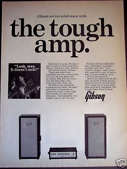 Gibson Solid State Amplifiers Guitar Amp (1967)