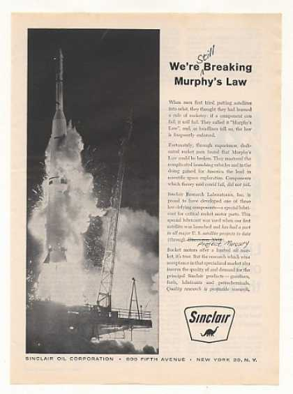 Project Mercury Rocket Launching Sinclair Oil (1962)