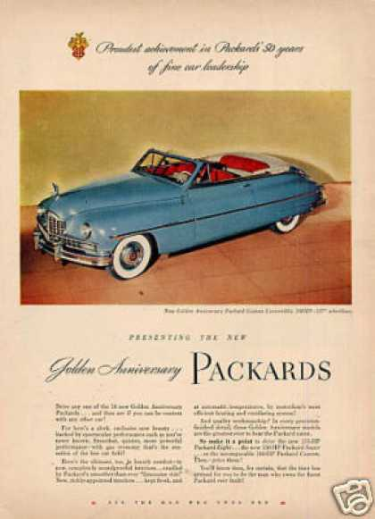 Packard Custom Convertible Car (1949)