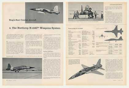 Northrop N-156F Aircraft Weapons System 8P Article (1960)