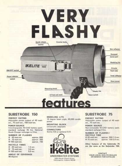 Ikelite Scuba Diving Lite Substrobe 150 T (1979)