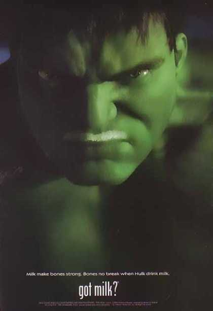 HULK &#8211; GOT MILK (2003)