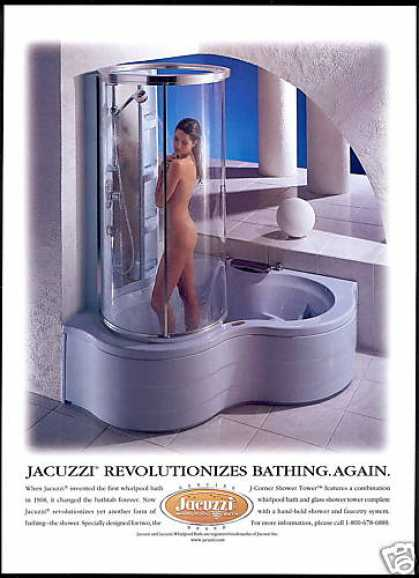 Nude Woman Photo Jacuzzi Bath Shower (1998)