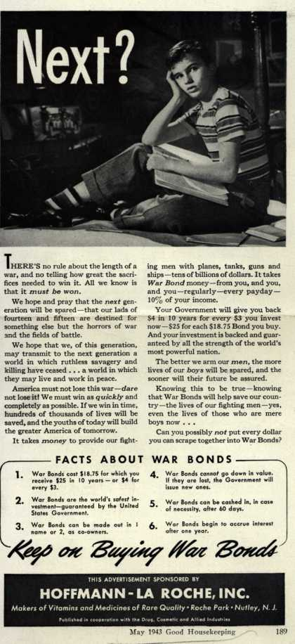 U. S. Government's War Bonds – Next? (1943)