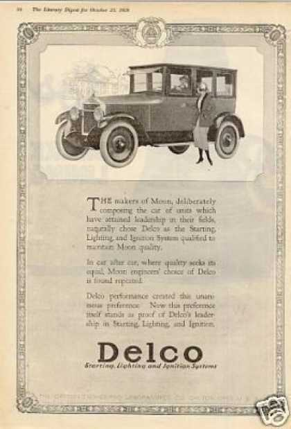 Delco Ad Moon Car (1920)