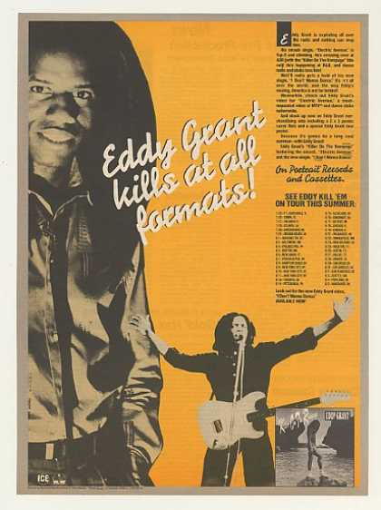 Eddy Grant Killer On The Rampage Tour (1983)