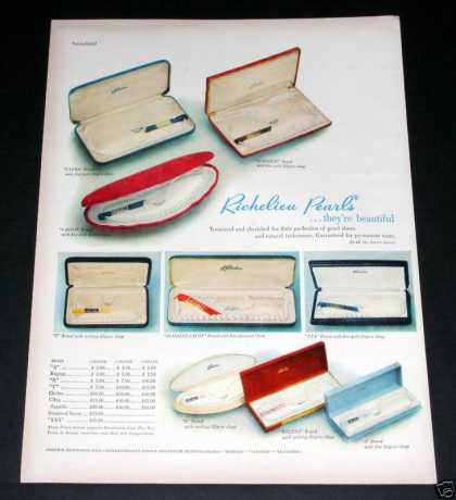 Richelieu Pearl Sets, Beautiful (1949)