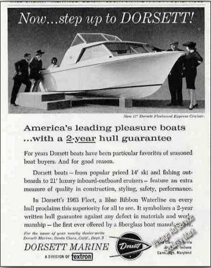 Dorsett 17' Fleetwood Express Cruiser Boats (1962)