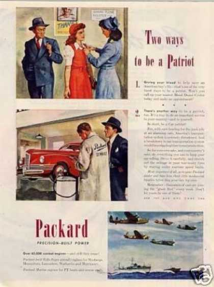 "Packard Ad ""Two Ways To Be A... (1945)"