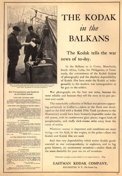 Kodak &#8211; THE KODAK in the BALKANS (1909)