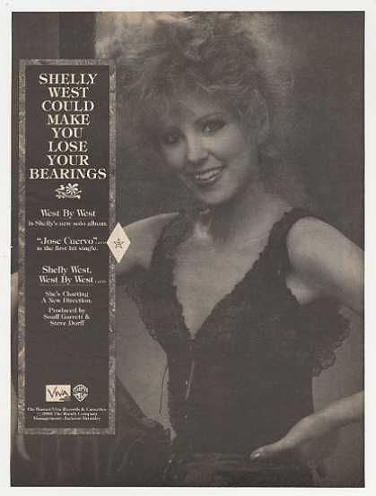 Shelly West Photo West By West Album Promo (1983)