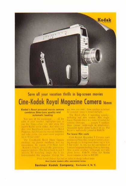 Kodak Camera – Royal Magazine Camera 16mm (1955)