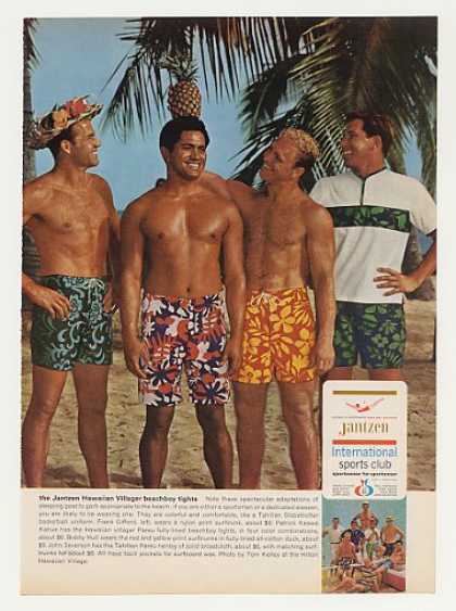 Frank Gifford Jantzen Hawaiian Beachboy Tights (1966)