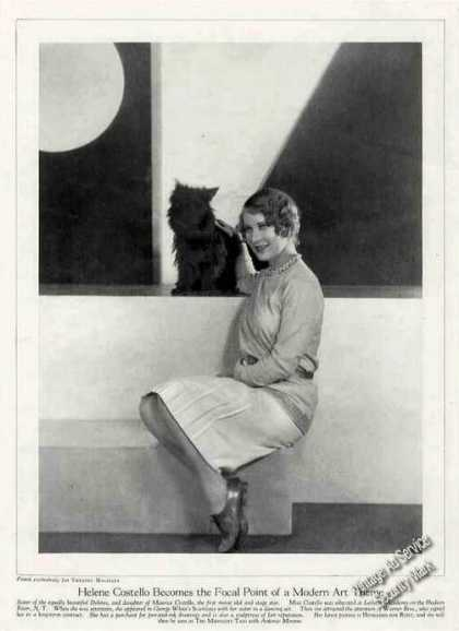 Helene Costello Theater Print Feature (1928)