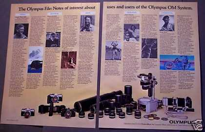 Olympus Camera Equipment Photography (1977)