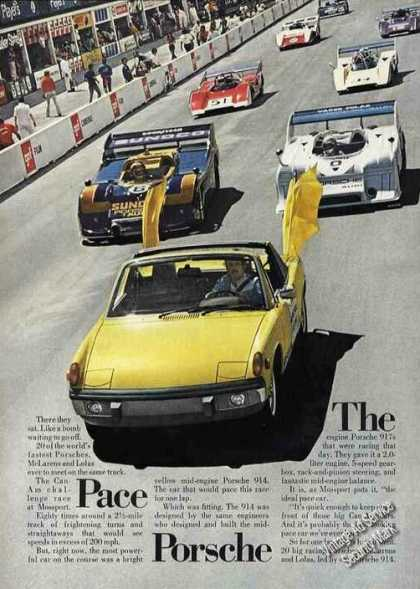 Porsche 914 Can-am Race Challenge at Mossport (1974)