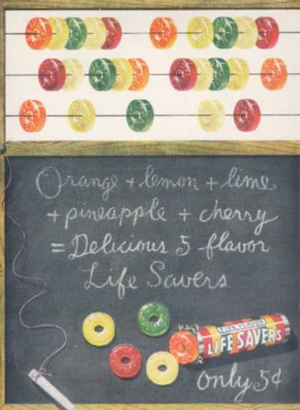 Lifesaver's Five Flavors (1950)