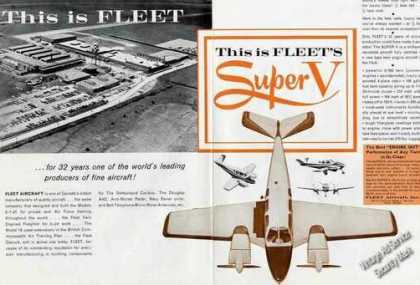 Fleet Aircraft Super V Nice 2 Page (1963)