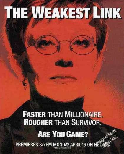 """The Weakest Link"" Premiere Promo (2001)"
