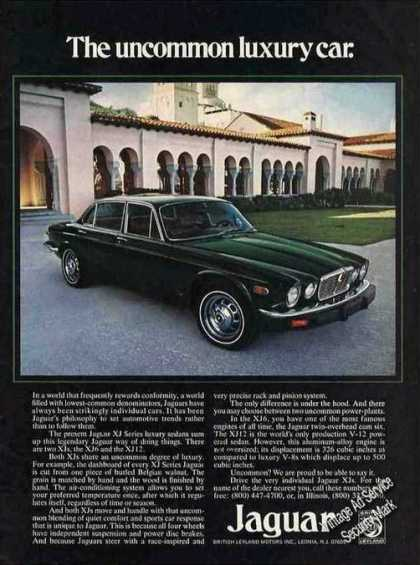 Green Jaguar Xj Series Luxury Sedan Nice Photo (1975)