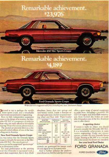Ford Car – Ford Granada / Red (1976)