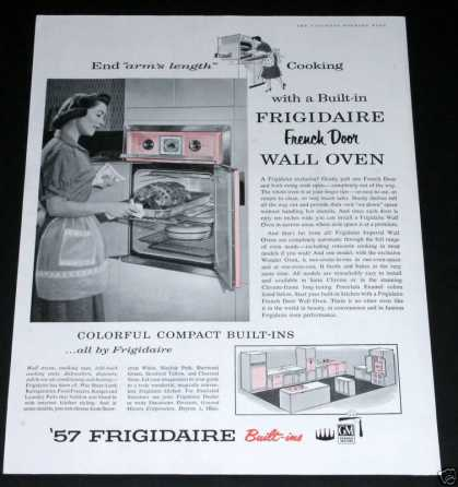 Frigidaire Wall Oven, Pink (1957)