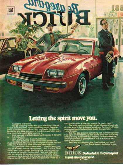 Buick Car – Skyhawk – Red (1976)