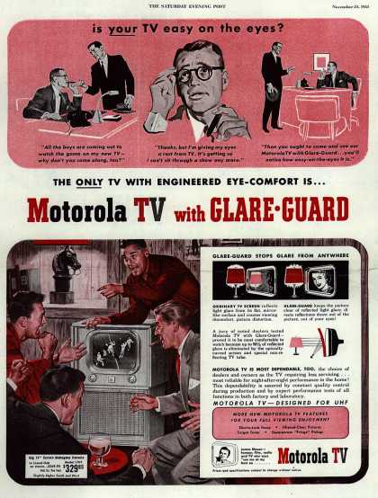 Motorola's Television – Is your TV easy on the eyes? (1951)