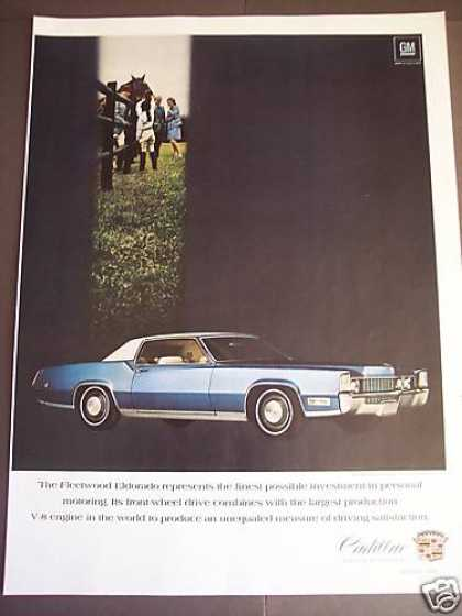 Fleetwood Eldorado By Cadillac Car Photo (1969)