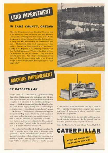 Lane County Oregon Caterpillar D6B Tractor (1960)