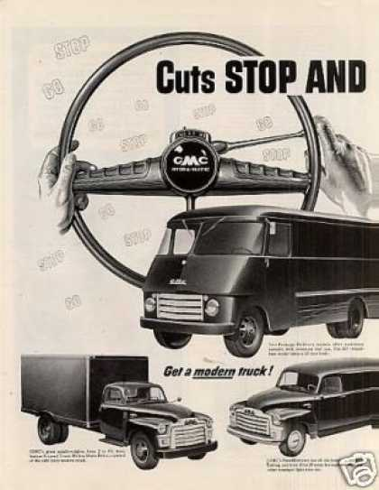 Gmc Trucks Ad 2 Page (1954)
