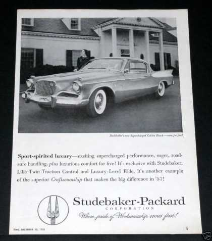 1957 Studebaker Golden Hawk (1956)