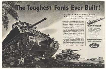 Ford M-4 Tank M-10 Tank Destroyer (1943)