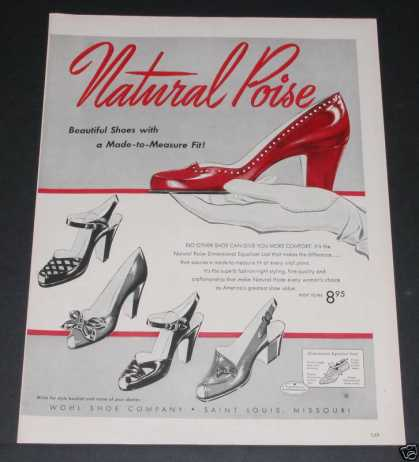 Old , Whol Shoes, Natural Poise (1951)